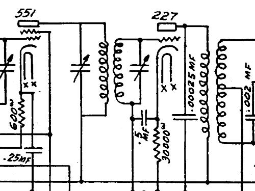6 tube trf radio trav