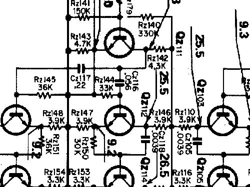 Ksq 400 4 Channel Decoder Amp Amplmixer Trio Kenwood