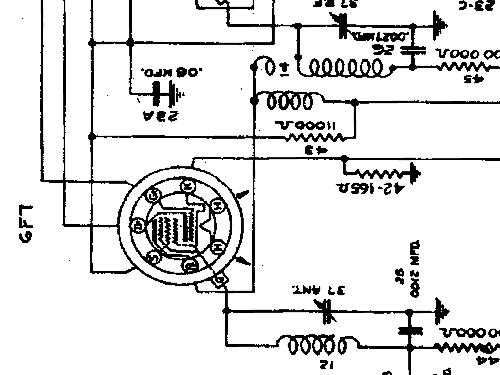 544245 pontiac above sn 1748809 car radio united motors