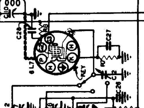 case 719 ch  17 radio apex electric  pool  chicago  us radio