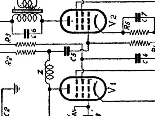mignolette radio watt radio torino build 1935 2 schema. Black Bedroom Furniture Sets. Home Design Ideas