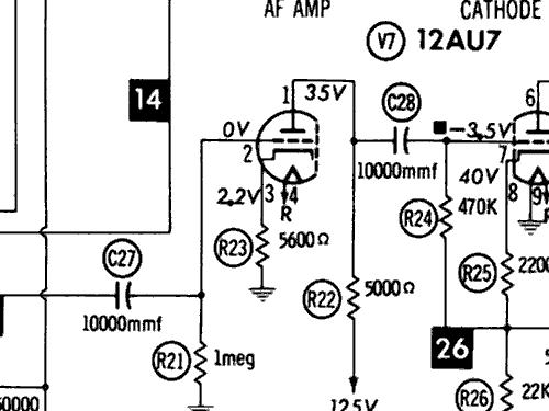 Stereo Preamp Schematic 12ax7