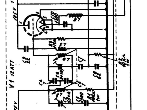 sam i radio west  milano  build 1959  1960  1 schematics  6 t