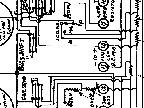 test panel equipment weston electrical instrument co   newar