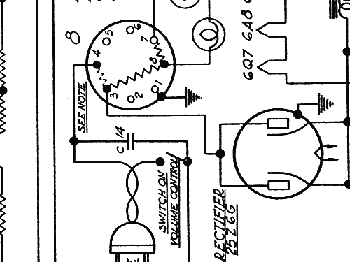 Zenith G730 Radio Schematic Diagrams Wiring Diagram Drawing Sketch