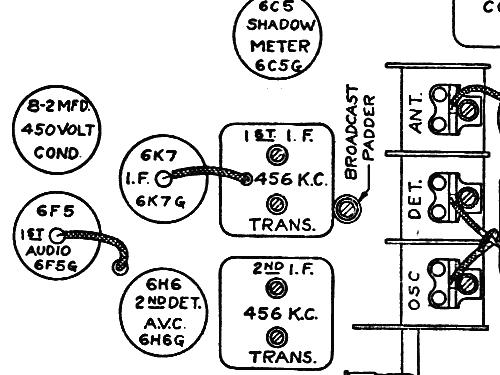 8s154 8 S 154 Ch5801 Radio Zenith Radio Corp Chicago Il