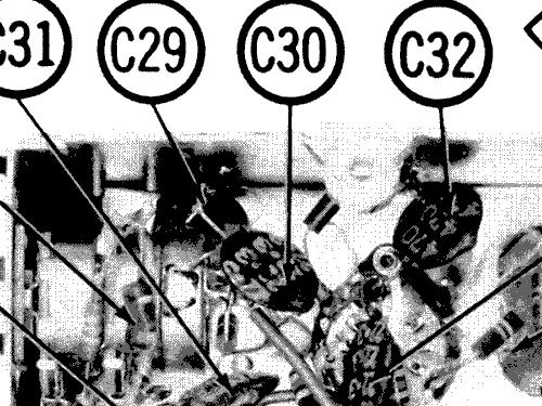 c725l the super sapphire ch 7c06 radio zenith radio corp Zenith Antique Radio Schematics