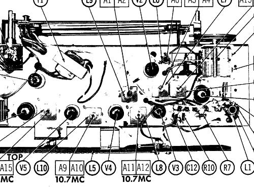 zenith 10 tube radio schematic wiring diagram database Schematic Zenith Radio Model A k731m ch 7k07 american cabinet maple radio zenith radio co zenith tv schematics zenith 10 tube radio schematic