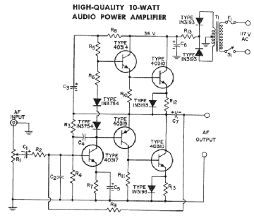 1N3193 Rectifier Diode RCA