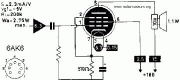 Для лампы 6П1П характерны такие технические параметры.  Наиболее ее близким аналогом по электрическим...