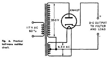 6W4GT, Tube 6W4GT; Röhre 6W4GT ID5106, Half-Wave Vacuum Rect