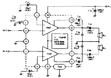 ha13108 schematic audio amplifier auto electrical wiring diagram u2022 rh 6weeks co uk
