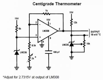 Это что-то типа LM335.  Вот схемка из его даташита.