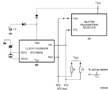 Ds1337 CMOS RTC Realtime Clock with i²c-bus dip8