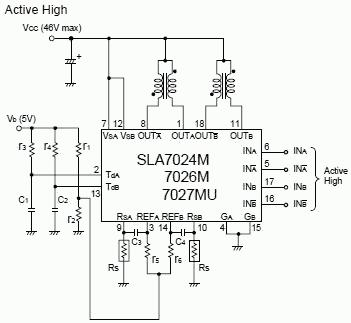 SLA7026M ZIP-18 Integrated Circuit from Sanken