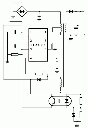 TEA1507P  INTEGRATED CIRCUIT  DIP-8