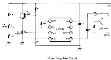 UC 3843, Tube UC3843; Röhre UC 3843 ID63396, IC - Integrated