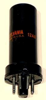 12A6 Gesamtansicht Sylvania Rote Beschriftung