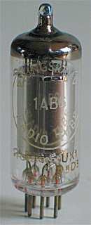 Tungsram 1AB6 code UX, rev1, Valvo Hamburg, apr 1955 wk 3