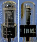 25L6GT IBM Typenbezeichnung auf Glas