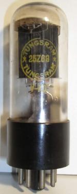 Tungsram  Octal  7 pin Poids : 36.5 grammes  Hauteur : 9.2 cm Diamètre : 3.1 cm