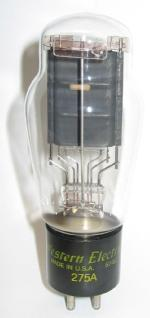 Western Electric 275A in ST bulb.