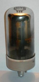 A new (old stock) US made Delco 35Y4 rectifier tube