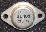 Der BU109 wurde in einigen Zeilenablenkstufen verwendet.