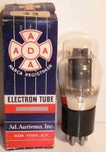 ELECTRON TUBE  Culot ancien Américain 6 pin Poids : 47 grammes Hauteur : 11.5 cm (avec pin) Diamètre : 4.4 cm