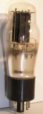 Grammont octal 5 pin Poids : 41.3 grammes Hauteur : 11.1 cm Diamètre max : 3.8 cm