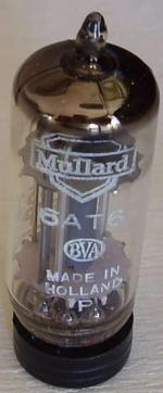 This 6AT6 from BVA Mullard was made in Holland.