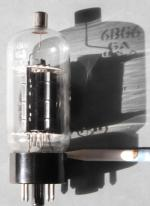 Röhrenansicht mit Schattenwurf der Röhrenbezeichnung