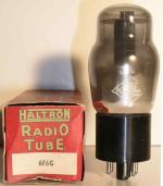 Haltron  Octal  7 pin Poids : 46.6 grammes Hauteur : 10.9 cm Diamètre : 4.4 cm
