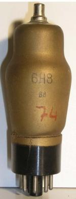 Octal   8 Pin Poids : 37 grammes Hauteur : 11.1 cm Diamètre max : 3.8 cm