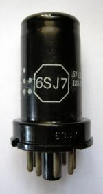 6SJ7 General Electric
