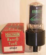 HALTRON   Octal  6 pin Poids : 32.1 grammes Hauteur : 8.3 cm Diamètre : 3.2 cm