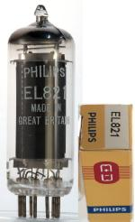 Philips EL821 'Made in Great Britain' m. box