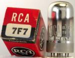 RCA 7F7 m. box
