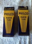 2 71a tubes in original philco box