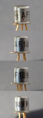 erster Mesa-Transistor von Siemens