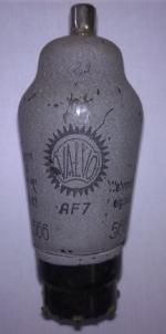 AF7 Valvo with Wehrmacht stamp - Item of my private collection