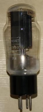 tube valve AX50 J. Tavares