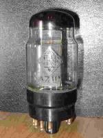 AZ11N, Hersteller Telefunken, Ansicht mit Beschriftung.