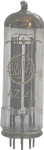 AZ41 von Valvo. Zweiweg-Gleichrichter
