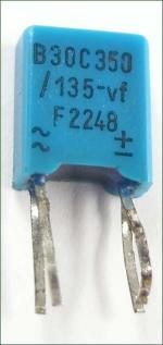11x13x5mm in blauem Kunststoffgehäuse