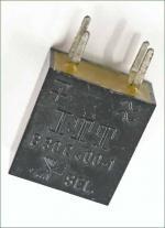 17x19x8mm in schwarzem Kunsstoffgehäuse