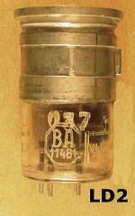LD2, BA11481, Wehrmacht, Siemens, 037, 1559, Kopf: 30/44, 011134