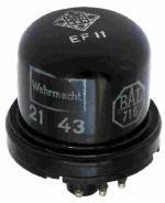 TFK EF11 mit Stempel BAL716 Wehrmacht 21 43