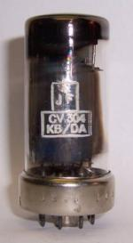 CV304 MULLARD UK BUT MADE BY PHILIPS FACTORY CODE 1