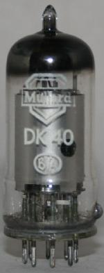 DK 4O Common type tube/semicond EU